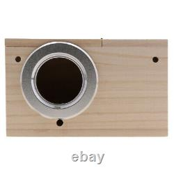 4x Budgie Wood Breeding Nest Box Cages Bird Finch Nesting Aviary withStick S