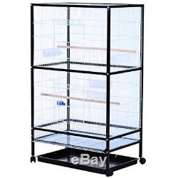54 Rolling Flight Cage Extra Large Bird House