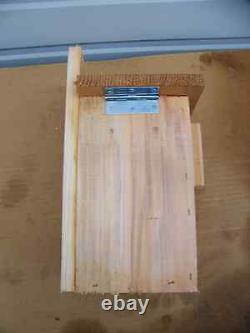 6 Bluebird Bird Houses Nest Box With Top Opening Free S/h Handmade In USA