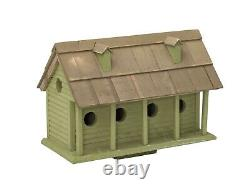 6 Room MARTIN MANSION Birdhouse Amish Handmade 24in. X 11in. X 16in