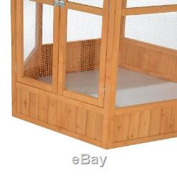 65 Bird Cage Play Top Parrot Finch Cage Pet Supplies Perch Macaw House Aviary