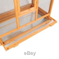 69 LARGE Bird Cage Hatch Room Pet Parrot Cock Cockatoo Finch House Wooden