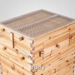 8 Styles Beehive Frames Beekeeping Bee Hive Honey Unique Wood Bees House