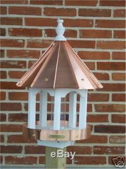 Bird Feeder Amish-made with Copper Roof