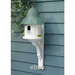 Bird House Lazy Hill Farm Designs Copper Top Bird House with Verde Copper Roof