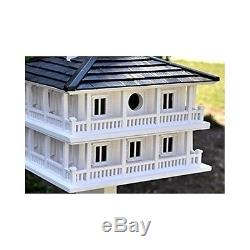 Birdhouse for Outside Southern Plantation Clubhouse Outdoor Nesting Birds Wood
