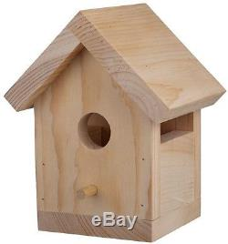Birdhouse pre cut wooden Kit (12-Pack) Birthdays Kids Fund Play House Creativity