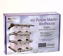 Birds Choice PMSR12 Starling Resistant Purple Martin House Ceiling Panel for Ven