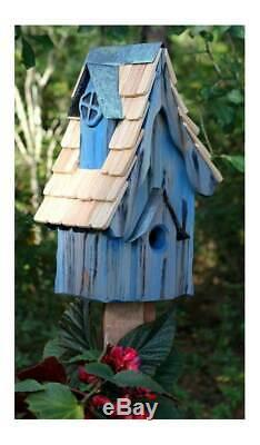 Boyds' Bungalow Bird House in Blue Finish ID 3215559