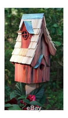 Boyds' Bungalow Bird House in Redwood Finish ID 3215558