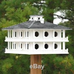 CLUBHOUSE BIRDHOUSE FOR PURPLE MARTINS by HOME BAZAAR