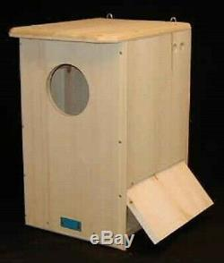 Coveside Conservation Barred Owl House Unassembled COV-10190-U