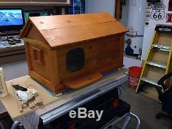 Custom Made Owl House. All Hand Made With Your Own Family Name Sign