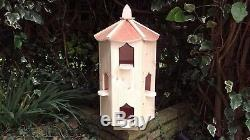 Dovecote six sided Reduced dovecotes large bird house box