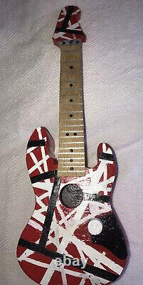 E Vh Guitar Style Birdhouse Handmade In USA from wood
