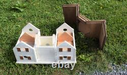 EXTRA LARGE Rustic Martin Birdhouse handmade reclaimed wood POST NOT INCLUDED