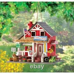 Gifts and Decor Rustic Old Time Country Store Wooden Bird House