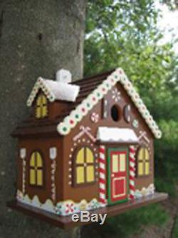 Gingerbread Cottage BirdHouse from Classical Living
