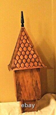 Good Directions Copper Shingle Roof Chateau Birdhouse BH203W
