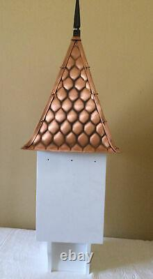 Good Directions Copper Shingle Roof Chateau Birdhouse BH203WWHT