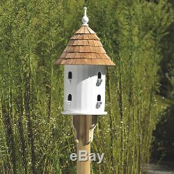 Good Directions Lazy Hill Birdhouse, 8 Compartments 16 Dia. X 28 H Shelter