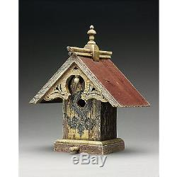 Griffith Creek Designs Heart and Eagle Queen Anne Birdhouse