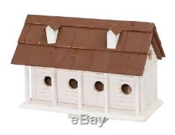 HOBZ-HBA1003-Martinsburg Manor (Large) White Wash withBrown Roof