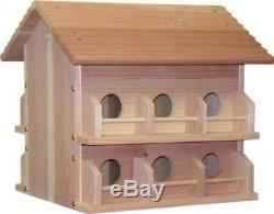 Heath Outdoor Products 297194 M-12Dp Deluxe Wood Martin House, New