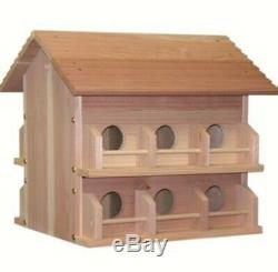 Heath Outdoor Products (#HEAM-12Dp) Deluxe Wood Martin House
