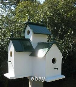 Large Handcrafted Victorian Birdhouse