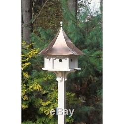 Lazy Hill Farm Designs Carousel Bird House with Polished Copper Roof 42406