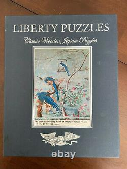 Liberty Wooden Puzzle Chinese Drawing Room Temple Newsam House Birds 394 Pieces