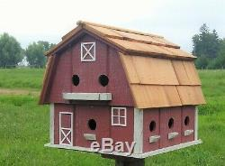 Martin Birdhouse Amish Handcrafted, Solid reclaimed wood, Extra large