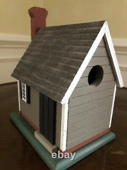 Michael Radcliffe Handmade Colonial Cottage Bird House For Colonial Williamsburg