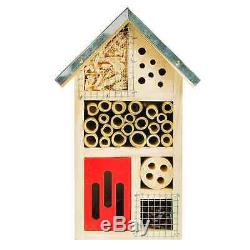 NiteangeL Wooden Insect House, Perfect Home for Ladybirds and Lacewings, as well