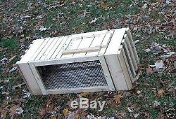 QUAIL. Cage. Pigeon. Dog. Training. Transfer of live. Birds. MADE IN U. S. A. BY VET'S