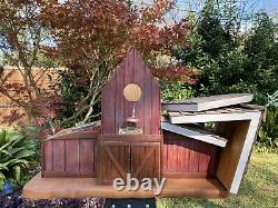 Rustic Barn Bird House Hand Crafted