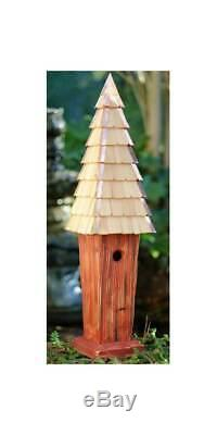 Skyscape Bird House in Redwood Finish ID 3215561