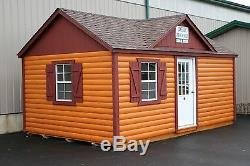 Tiny house for office or backyard studio, one of a kind with knotty pine