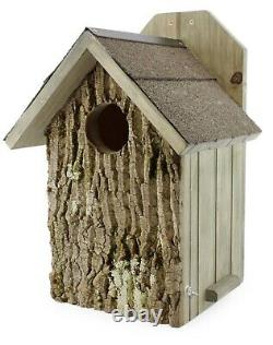 Uncle Dunkels Screech Owl Nesting Box, House, Prefinished Pine ready to install