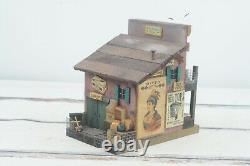 Vintage Folk Art M. L. Studtman Bird House Trading Post Handmade Wood