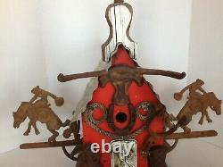 Wild West Birdhouse Incredible Hand Crafted LARGE Original by Lorenzo AMAZING